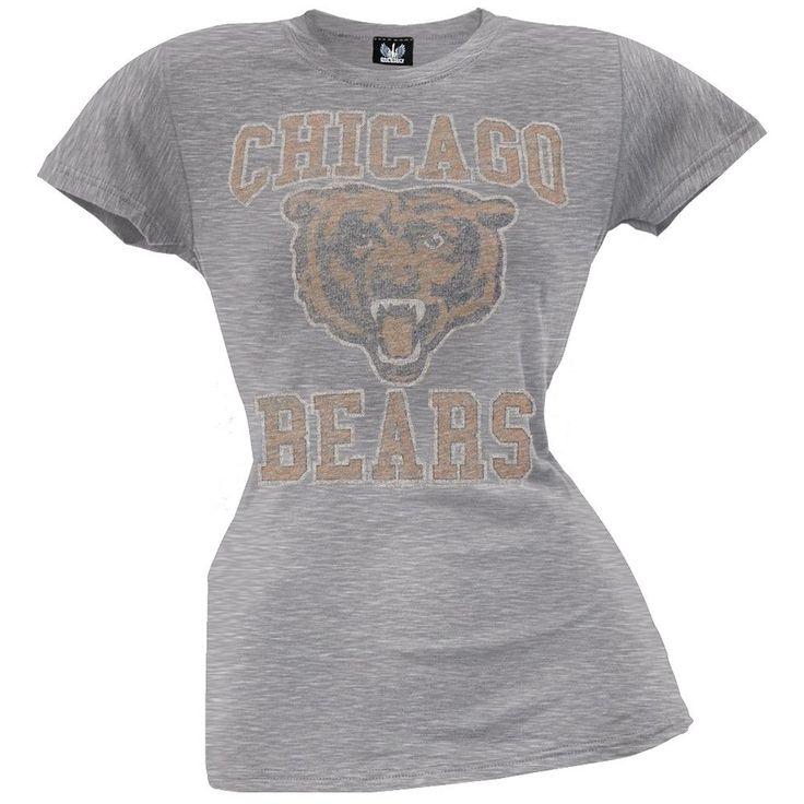 Chicago Bears - Vintage Logo Juniors T-Shirt
