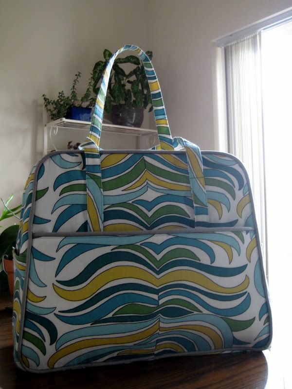 Weekender Bag Knitting Pattern : 1000+ images about Amy Butler Crafts on Pinterest Weekender, Papercraft and...