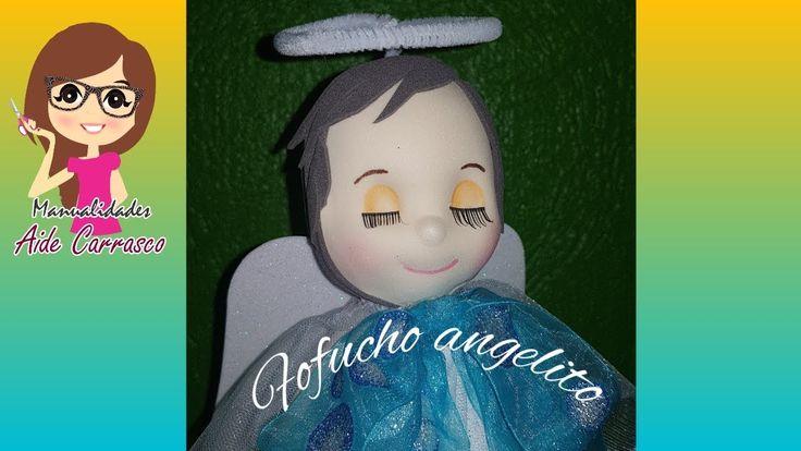 COMO HACER CABECITA Y CARITA FOFUCHO ANGELITO
