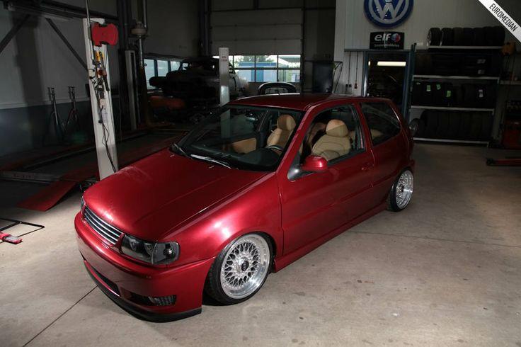 Volkswagen Polo 6n2 Bi Turbo   Volkswagen Polo 6n2 Lowered slammed scrape vw chrome rims