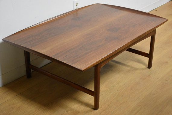Folke Ohlsson Walnut Coffee Table for DUX