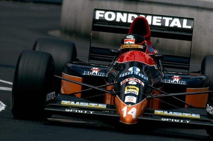 Olivier Grouillard, Monaco 1990, Osella FA 1M-E
