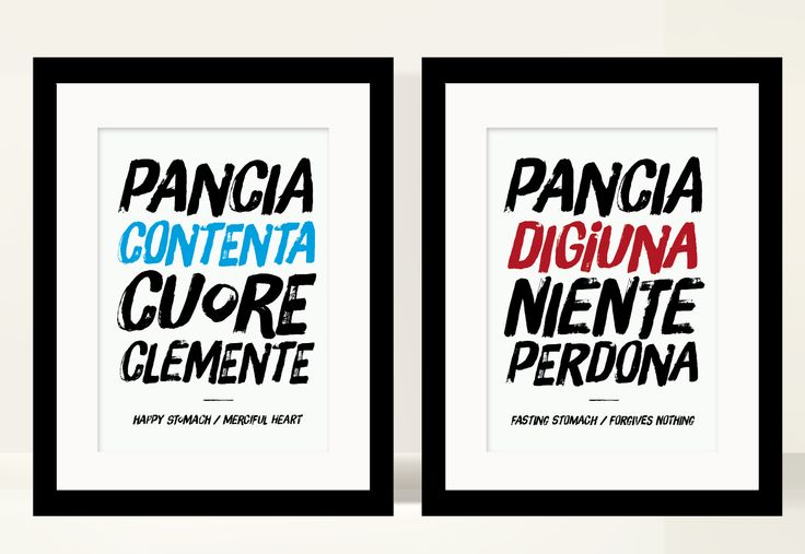 Kitchen poster, italian quote #art #print #poster #typography #typographyc #quote #italy #italian