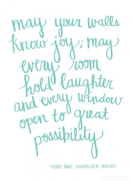 Hand drawn quote by The Inspired Room blog