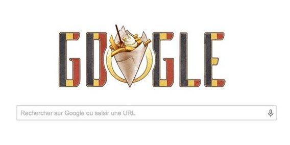 Google en version noir, jaune, rouge pour le 21 juillet - L'avenir
