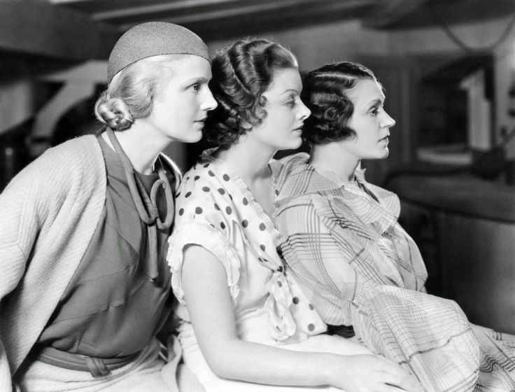Ann Harding, Myrna Loy and Alice Brady in When Ladies Meet (1933)