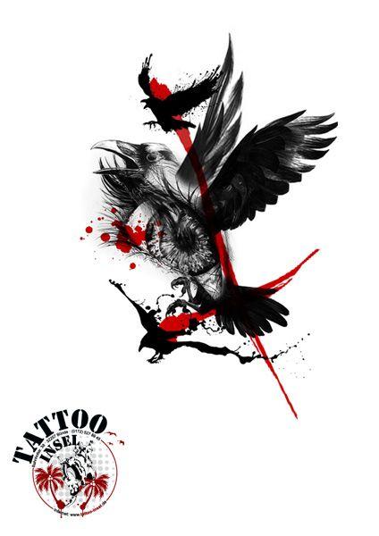 Tattoo Insel, Polka Trash design