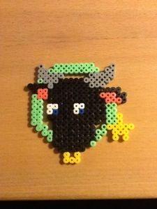 Hama beads. #Zodiac - #Taurus