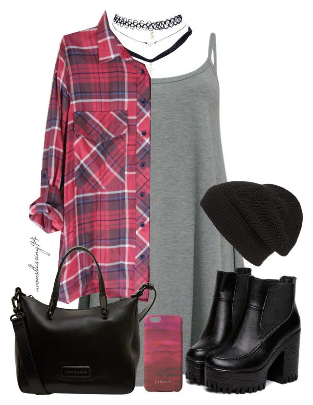 """Grunge"" by avonsblessing94 ❤ liked on Polyvore featuring Wet Seal, Phase 3, Marc by Marc Jacobs and Jigsaw"