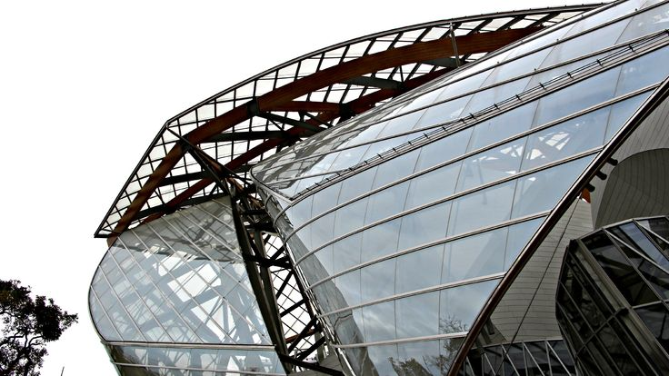 Fondation Louis Vuitton in Paris. #fondationlouisvuitton #paris