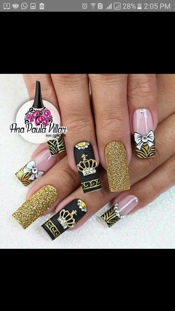 554 best UÑAS images on Pinterest | Halloween nail art, Halloween ...