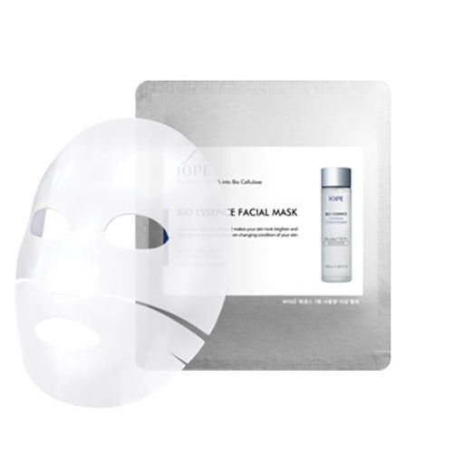 Amore Pacific IOPE Bio Essence Facial Mask Sheet 1EA,3EA,5EA, Cellulose Mask  #IOPE