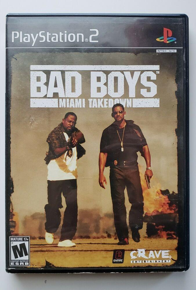 Bad Boys Miami Takedown Sony Playstation 2 2004 Ps4 Gaming Video Bad Boys Boys Miami
