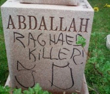Honestly, what is wrong with people? ... Muslim graves desecrated at Evergreen Park cemetery - Chicago Sun-Times