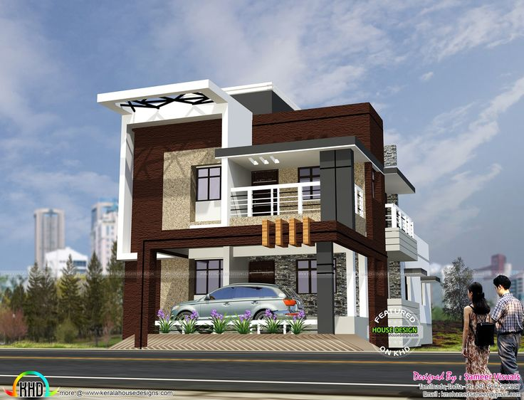 South Indian style contemporary house