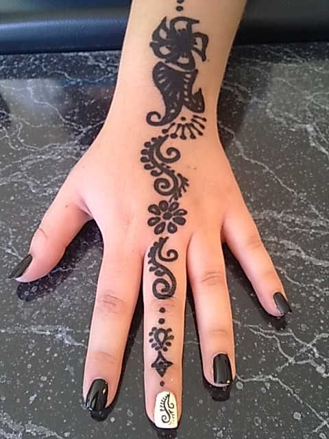 Mehndi Designs For Nails : Best images about henna nails on pinterest nail art