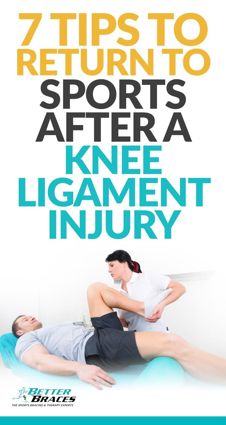 Put your knee ligament injury behind you and return to your favorite sport with ease.