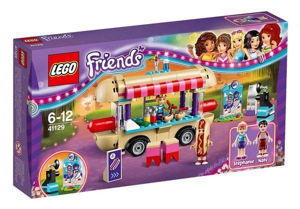 LEGO 41129 FRIENDS IL FURGONE DEGLI HOT DOG DEL PARCO DIVERTIMENTI - Tutte le ultime novità dal mondo LEGO in pronta consegna su Vendiloshop.it #lego #offerte #giocattoli #vendiloshop