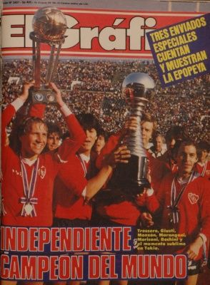 1984 Trossero; Independiente Campeon del Mundo
