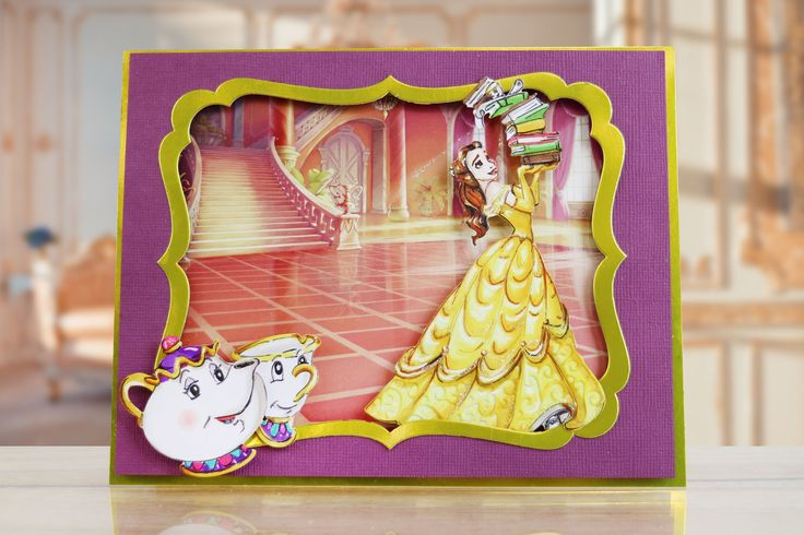 New Disney Princess craft collection Launches on Create and Craft, Monday 7th November at 8AM! / papercraft / cardmaking / scrapbooking / scrapbook / crafts