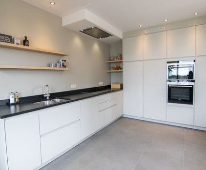 25 beste idee n over witte keukens op pinterest witte keukenkasten witte kasten en keuken idee n - Deco witte keuken ...
