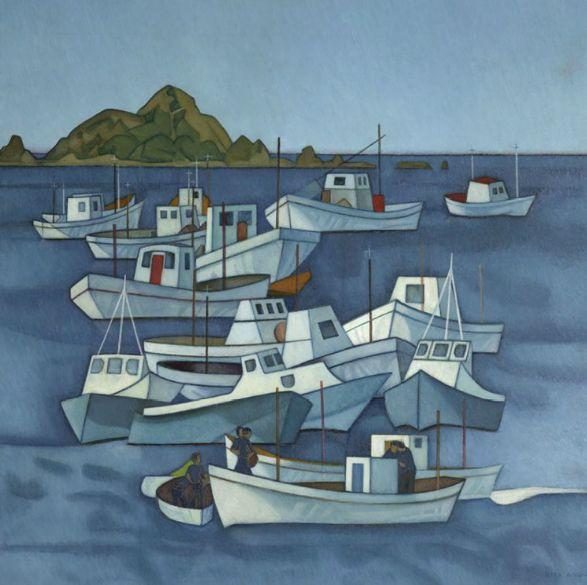 Island Bay by Rita Angus NZ Artist