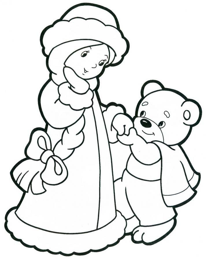 Картинка к новому году для детей раскраска, знака