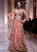 Models wearing Falguni and Shane Peacock collection at Indian Bridal Week Nov 2013 at Mumbai 30