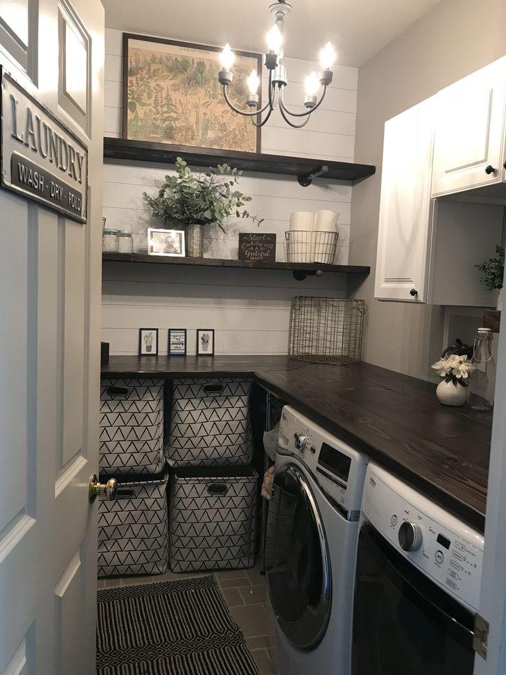 Uploaded From Pinterest In 2020 Elegant Laundry Room Dream Laundry Room Laundry Room Makeover