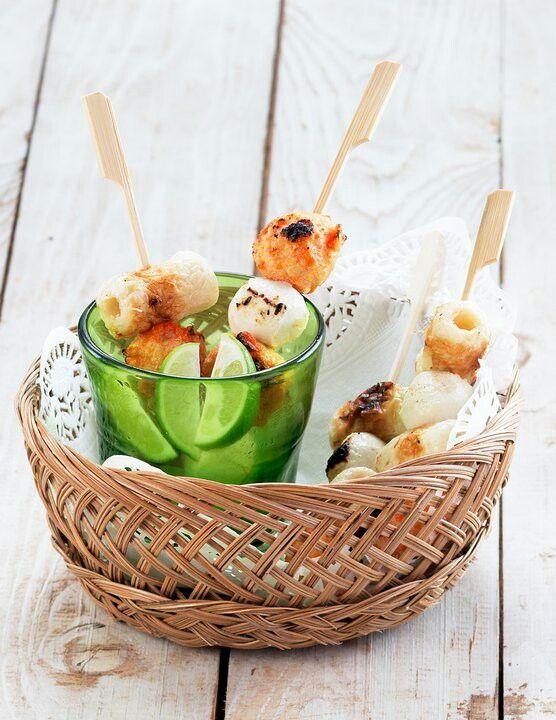 Seafood satay #foodstylist