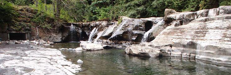 Browns River Falls | Comox Valley River Beaches
