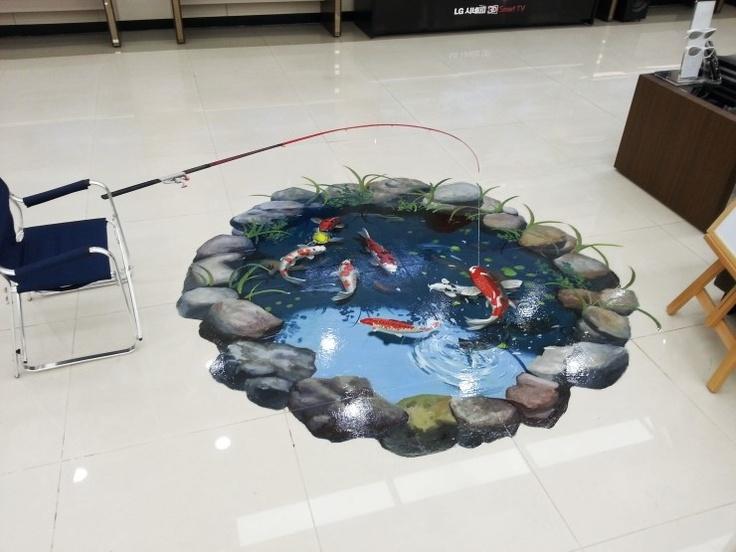 연못(Pond and Fish)