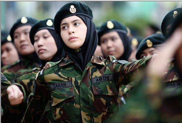 Update terbaru foto tni cantik indonesia berhijab