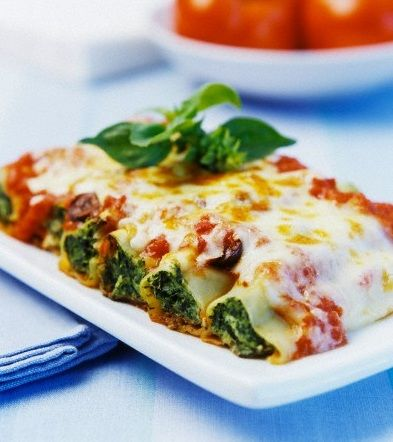 Spinach Cannelloni  http://www.dietistanatural.com/?p=966