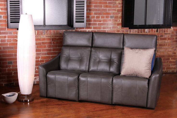 NEW Groove sofa Jazz Collection by Jaymar. Retractable head-rest Motorized reclining mechanism. Made in Canada