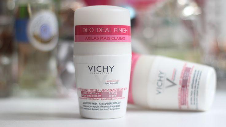 Deo Ideal Finish Vichy   Desodorante com ação clareadora