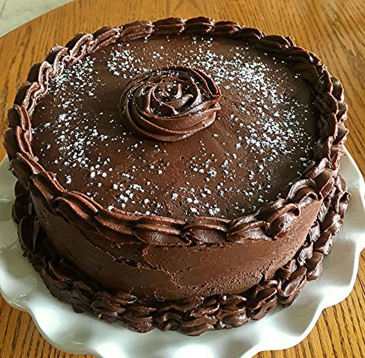 Nana S Chocolate Fudge Brownie Cake Pinterest