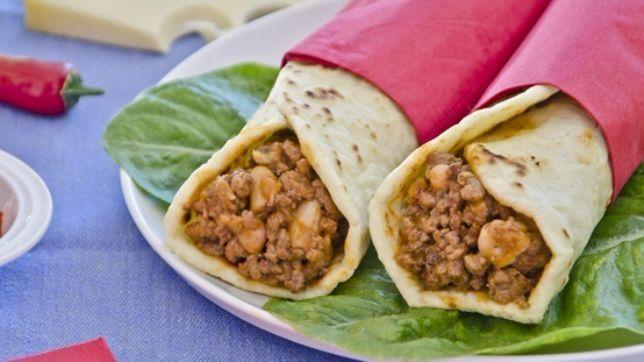 Burritos di manzo
