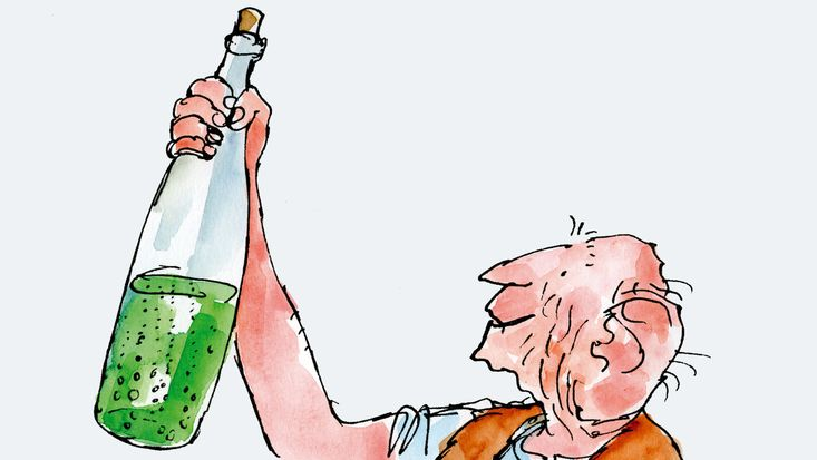 Roald Dahl's The BFG, illustrated by Quentin Blake - Release Date for movie by Steven Spielberg