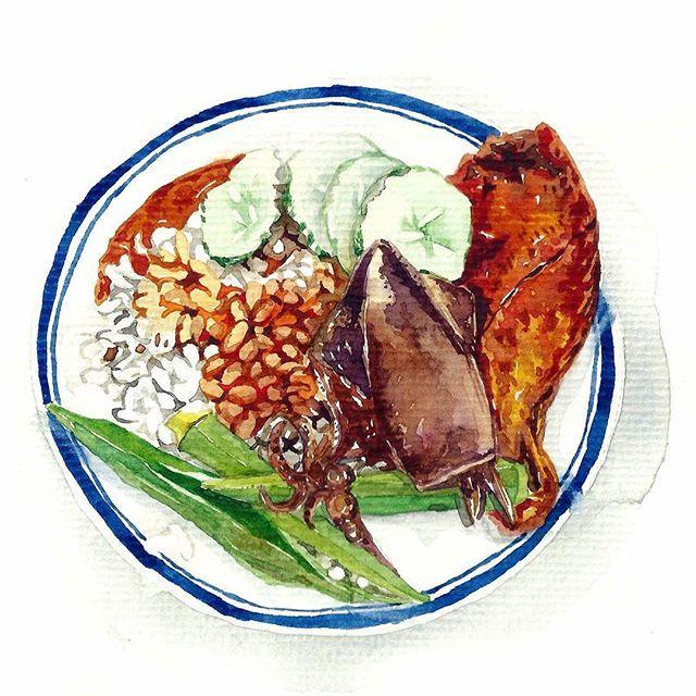 Les 2552 meilleures images du tableau food illustration for Peinture alimentaire cuisine