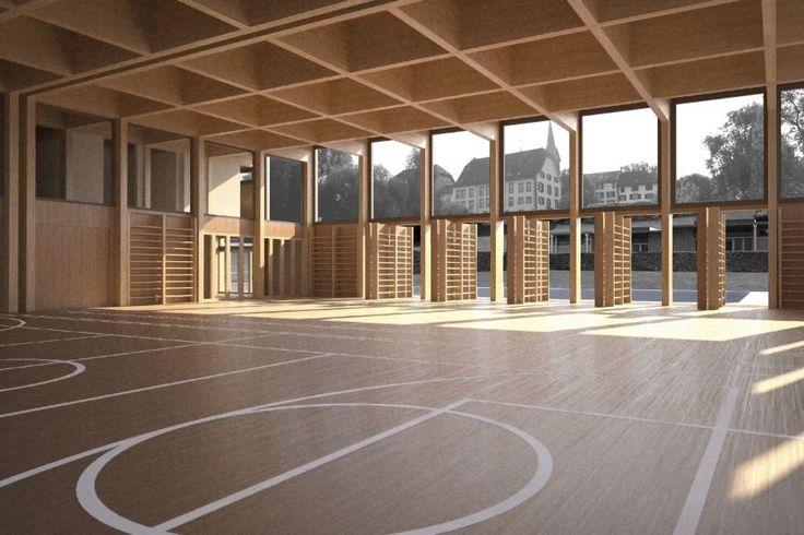 Sporthalle Münchenbuchsee | Jan Henrik Hansen Architekten