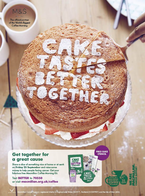 Coffee, cake and cancer have proven to be a potent fundraising combination for Macmillan Cancer Support. But with more copycat events in the calendar, we needed to work harder to settheir coffee morning apart. Research revealed the event to be seen as the perfect excuse to catch up with close friends. This led to our …