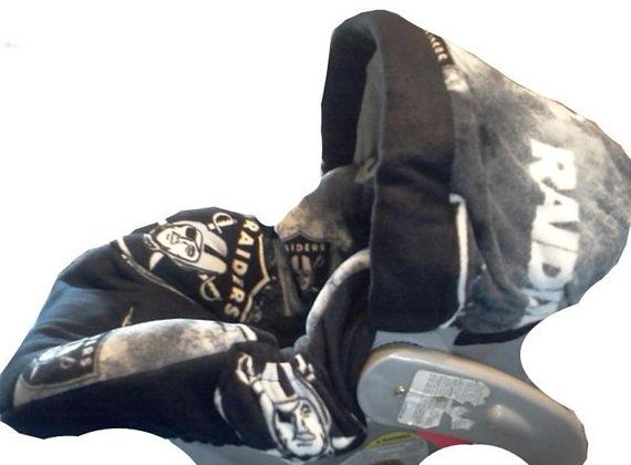 Oakland Raiders Infant Car Seat Cover Infant Car Seat