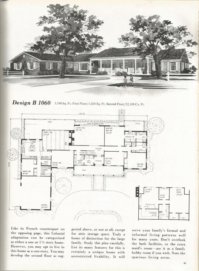 636 best mid century modern images on pinterest mid for 1960 house plans