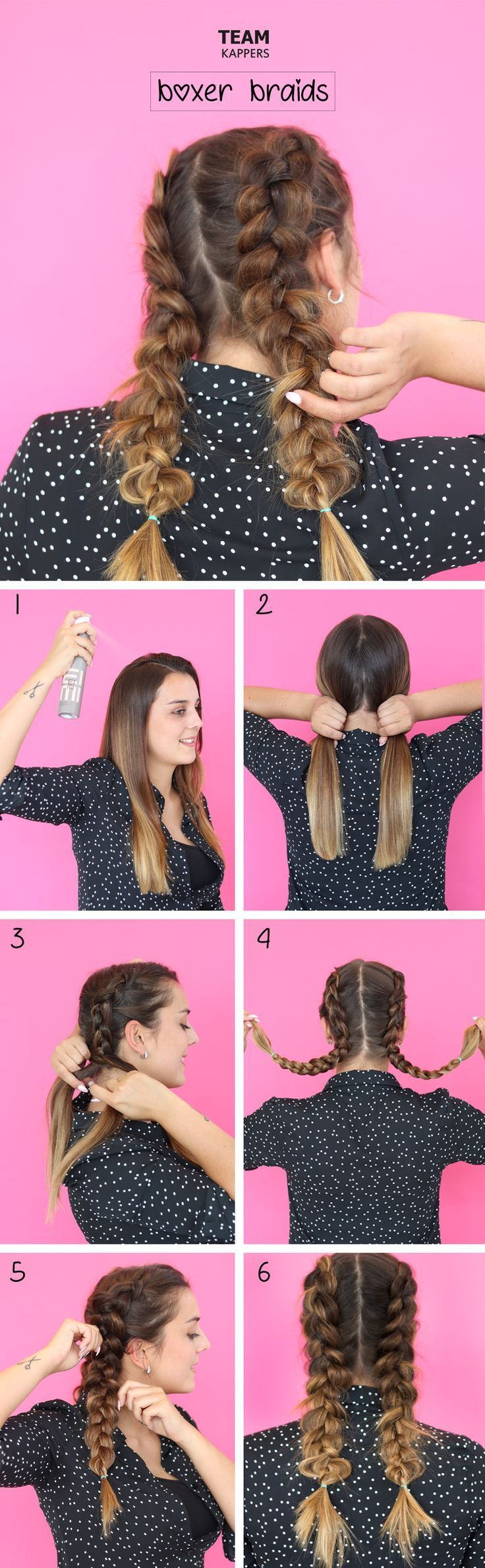 Hair tutorial: boxer braids Admittedly these braid…