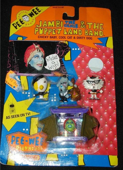 Jambi & the Puppet Land Band! Pee Wee Herman