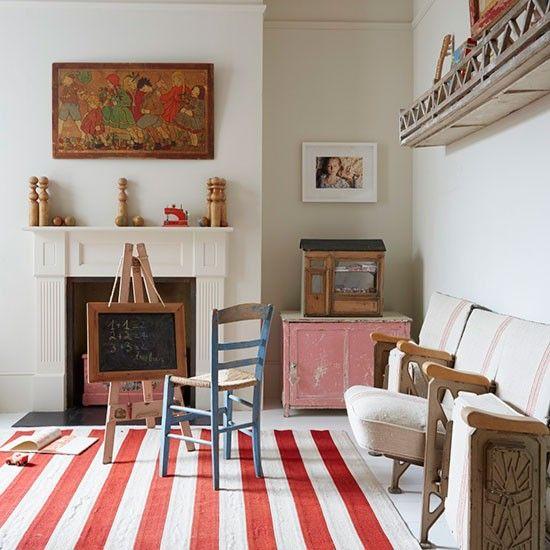 Playroom | Hamptons-style London terrace | House Tour | PHOTO GALLERY | Livingetc | Housetohome