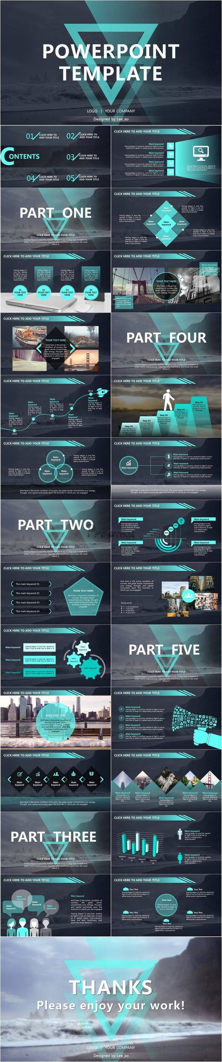 Another excellent #Powerpoint #Keynote #template