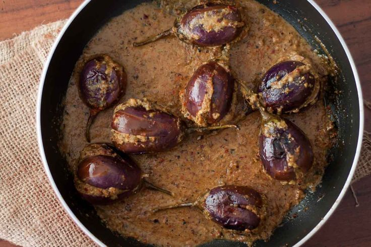 Ringan Ravaiya Recipe (Parsi Style Stuffed Eggplant Recipe)   Archana's Kitchen - Simple and Easy to Cook Vegetarian food recipes for healthy living   Bloglovin'