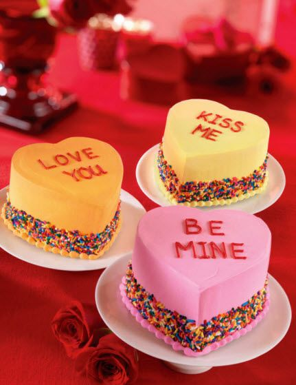 Baskin-Robbins launches Conversation Heart Cakes